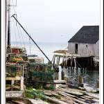 """""""Pier, Peggys Cove"""" by genenphotos"""