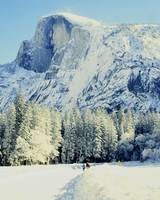 Yosemite Valley snowscape