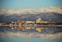 Alaska Anchorage Afternoon Reflections