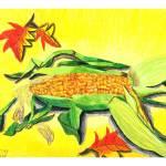 """Annette Sujo 11- Corn"" by sabahkinderart"