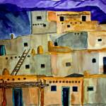 """Taos Pueblo Taos New Mexico"" by PaulC"