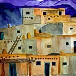 """Taos Pueblo Taos New Mexico"" by PaulC"