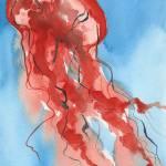"""""""Scarlet Aurelia Rising"""" by LaurenMaurerStudio"""