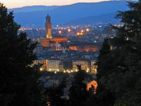 Florence at twilight