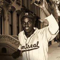 Jackie Robinson Becomes a Brooklyn Dodger by I.M. Spadecaller