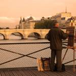"""Painter on the Seine"" by kirahagen"