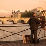 """Painter on the Seine"" by kirahagen"