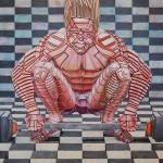 """""""Weight lifter"""" by RobbArt"""