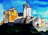French Castle Sold Original