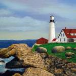 """Lighthouse at Rocky Point"" by terryhuey"