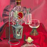 """""""Glass on Red"""" by mydimensionalcanvas"""