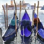 """gondolas"" by artkat-studios"
