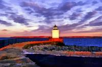 Winter Sunset over Bug Light