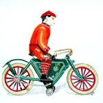 """Bicycle Rider"" by Glenda"