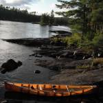 """Kevlar Canoe in Boundary Waters"" by kimmerhaw"