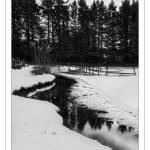 """""""Morotn Fishery - Kirknewton B&W"""" by imagesbycadac"""