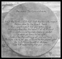 Native Ten Commandments