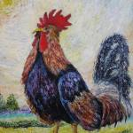 """il gallo"" by artecorona"