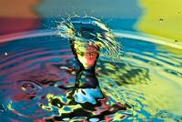 Water Splash .... Having a Bad Hair Day