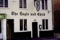 The Eagle and Child Front Door