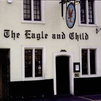 The Eagle and Child Front Door Art Prints & Posters by Michelle Lambert