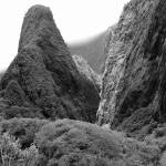 """Iao Needle B&W 1"" by ExpressionsOfLight"