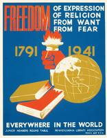 Freedom of Expression and Religion Poster (1936-41