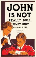 John May Need His Eyes Examined Poster (1937)