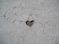 Parisian Heart Pavement