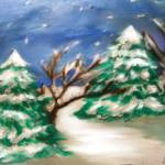 """christmas painting"" by timetolive25"