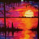 """Big Swamp Sunset"" by neworleansartist"