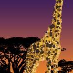 """""""Giraffe on the Horizon"""" by sunkingdesigns"""