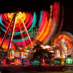 """Carnival Rides In Motion"" by lightningman"