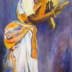 """BalaSaraswati_DancingWithThePresence"" by zoealowan"