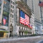 """Stock Exchange Flags Wall Street"" by mgarbowski"