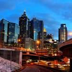 """Atlanta Skyline"" by breaker"