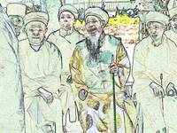 Elders Gather in Guizhou China