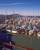 SanFrancisco Harbour Boats
