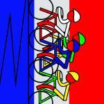 """""""Vertical Climb - Tour de France"""" by Lonvig"""