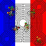 """""""Reims Labyrinth - Tour de France"""" by Lonvig"""