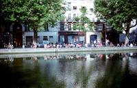 Paris: Canal Saint Martin