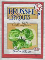 Demon Brussel Sprout Seeds