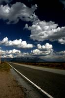 Road and cloud