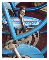 Blue  Bike Peddals