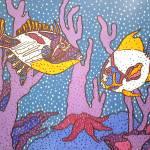 """""""Underwater Meeting"""" by HolmansKrugArt"""