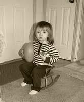Sepia Rocking Chair
