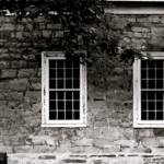 """stone house with windows"" by russgiffen"