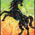 """Psychedelic Horse"" by schimmelart"