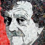 """""""Kurt Vonnegut, Jr."""" by schimmelart"""