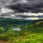 """Glendalough Pano HDR"" by DamianSynnott"